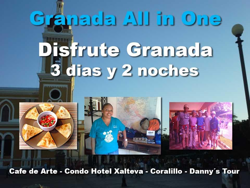 Granada 3 dias 2 noches